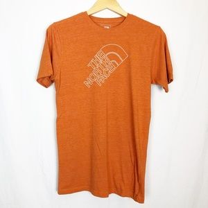 The North Face Orange Logo Mens Size Small